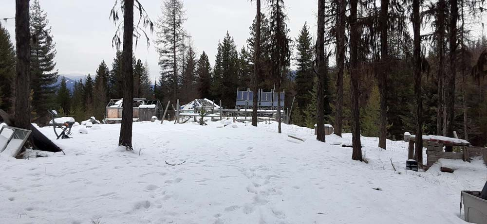 Over 6 Acres Off Grid Yaak Montana Property for Sale
